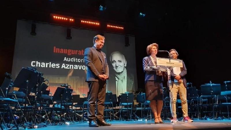 Ֆրանսիական Կլամար քաղաքի կոնսերվատորիայում բացվել է Շառլ Ազնավուրի անունը կրող համերգասրահը