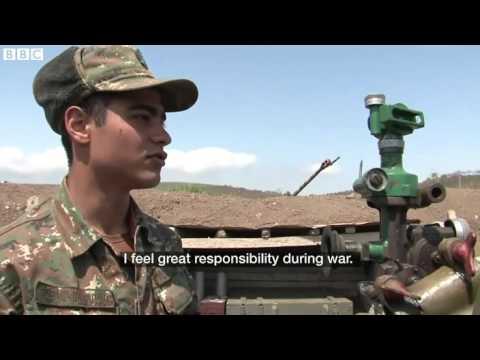 Լեռնային Ղարաբաղի հակամարտությունը. BBC-ի ռեպորտաժն առաջնագծից (տեսանյութ)