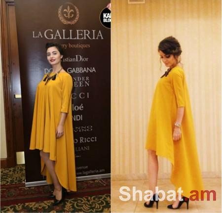Դիանա Մալենկոն ընդունելության է գնում ընկերուհուց վերցրած զգեստով (լուսանկարներ)