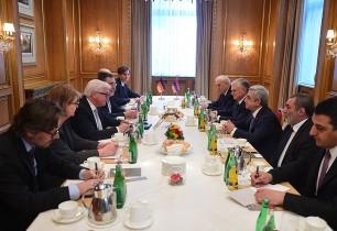 ՀՀ Նախագահ ԵԱՀԿ գործող նախագահի հետ քննարկել է Արցախում սահմանային իրադրությունը