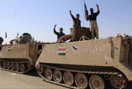 Իրաքյան ուժերն ազատագրել են Բայջի քաղաքը