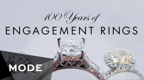 Ամուսնական մատանիների էվոլուցիան վերջին 100 տարիների ընթացքում (տեսանյութ)