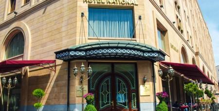 «Նացիոնալ» հյուրանոցում բռնկված հրդեհը մեկուսացվել է