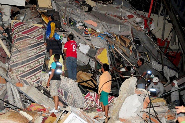 Էկվադորում երկրաշարժի զոհերի թիվը հասել է 525-ի