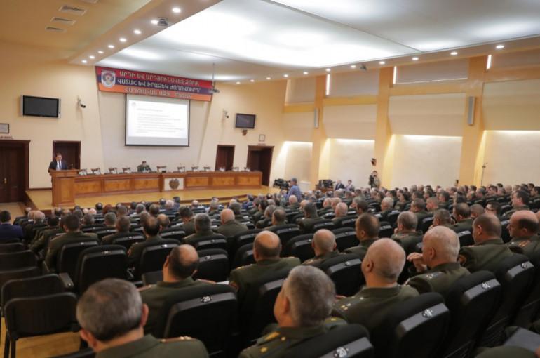 ՀՀ ՊՆ-ում մեկնարկել է ԶՈւ ղեկավար կազմի օպերատիվ հավաքը