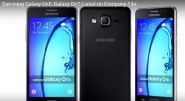 Samsung-ը ներկայացրել է Galaxy On5 և Galaxy On7 բյուջետային սմարթֆոնները