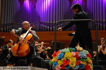 Կայացավ Երիտասարդական նվագախմբի, Սուրեն Բագրատունու և Հիրոֆումի Յոշիդայի համագործակցությունը