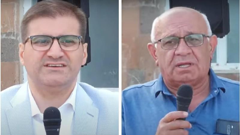 «Շիրինյան-Բաբաջանյան ժողովրդավարների դաշինքի» հավաքն Արմավիրի մարզի Խանջյան գյուղում․ (տեսանյութ)