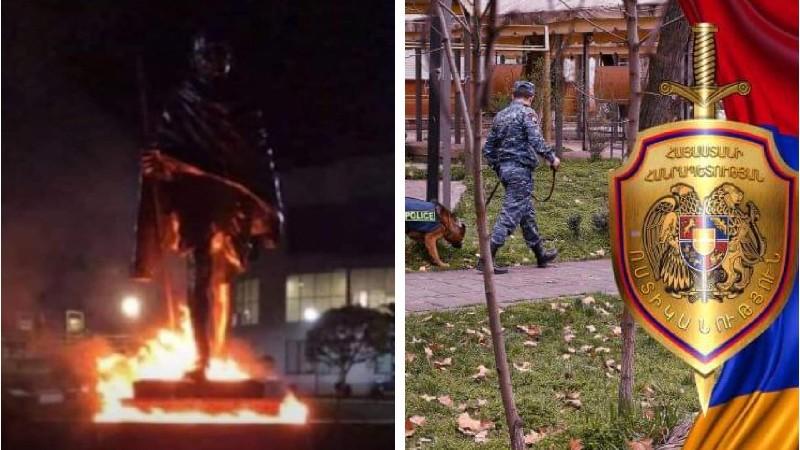 Մահաթմա Գանդիի արձանը պղծած տղամարդը հայտնաբերվել է