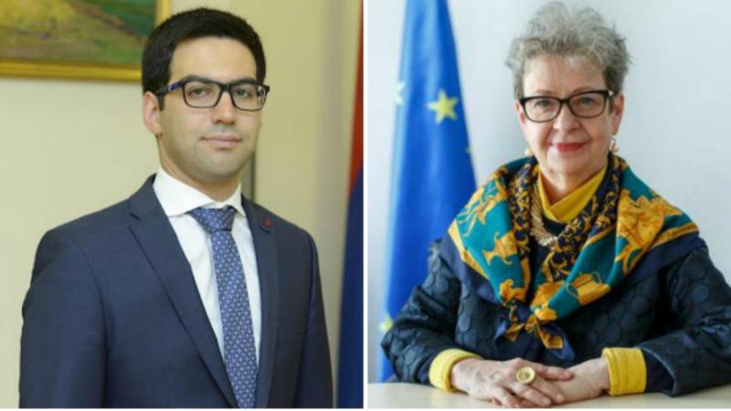 Ռուստամ Բադասյանը և Անդրեա Վիկտորինը քննարկել են արդարադատության ոլորտի բարեփոխումների առաջընթացը և ներկա իրավիճակը
