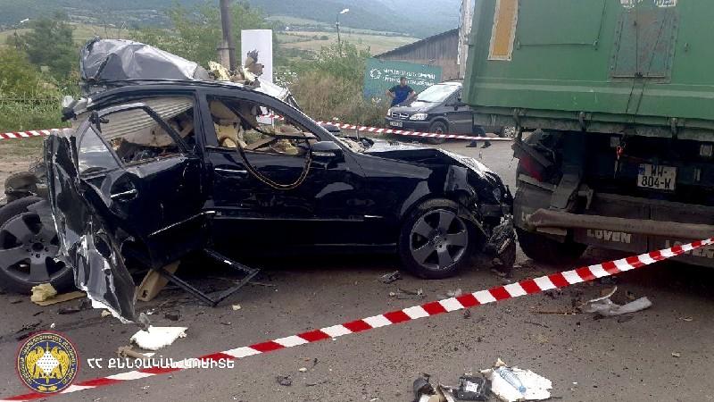 Մեքենայի պայթյունից Բագրատաշենի մաքսատան մոտ 35-ամյա վարորդը մահացել է