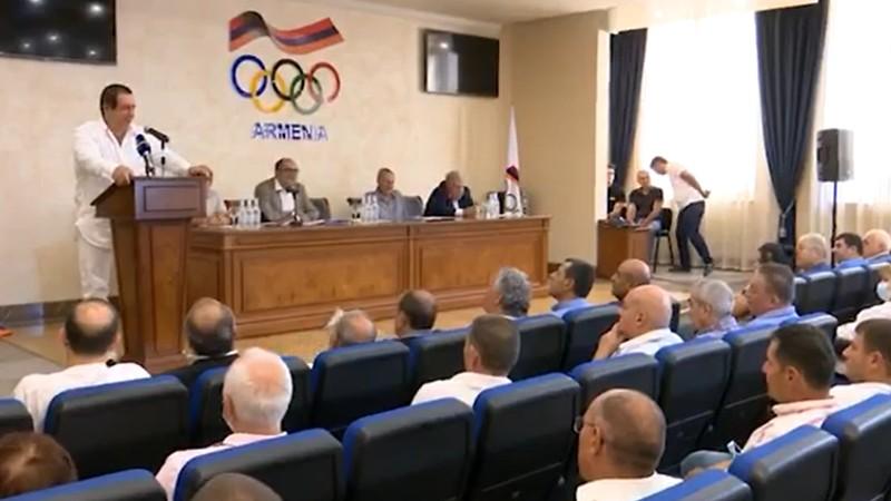 Տեղի է ունեցել Հայաստանի Ազգային Օլիմպիական Կոմիտեի գլխավոր համաժողովը (տեսանյութ)