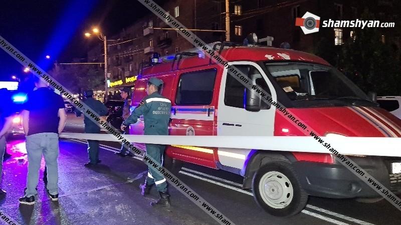 Վրաերթ Երևանում. BMW-ն «Արևելյան խոհանոց»-ի դիմաց վրաերթի է ենթարկել փողոցը անթույլատրելի հատվածով անցնող հետիոտնին