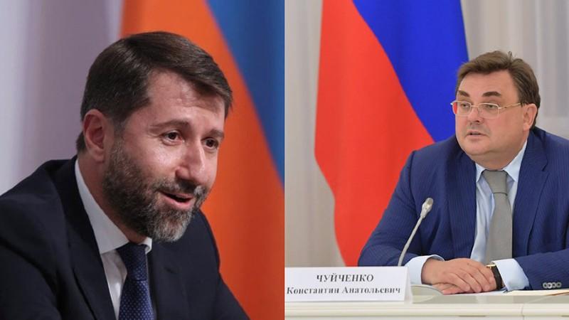 ՌԴ Արդարադատության նախարարը շնորհավորական ուղերձ է հղել Կարեն Անդրեասյանին