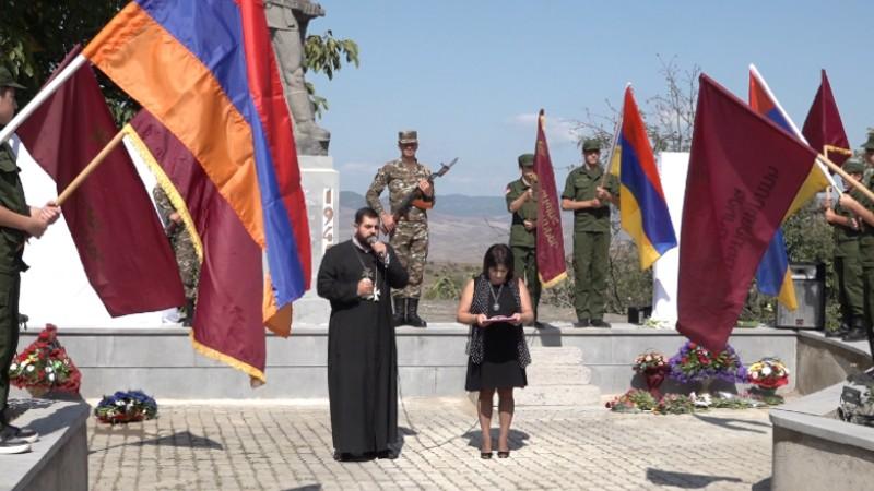 Տավուշի մարզի Սարիգյուղ համայնքում բացվել է պատերազմի զոհերի հիշատակին նվիրված հուշաքար