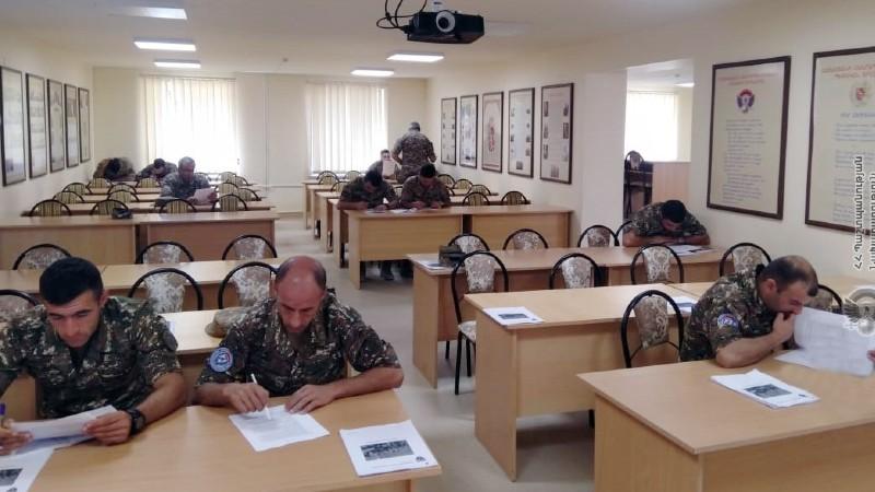 Հայ խաղաղապահները մասնակցում են հրամանատարական դասընթացների (լուսանկարներ)