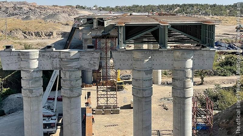 Արգավանդ-Շիրակ կամրջի շինարարությունն ավարտական փուլում է (լուսանկարներ)