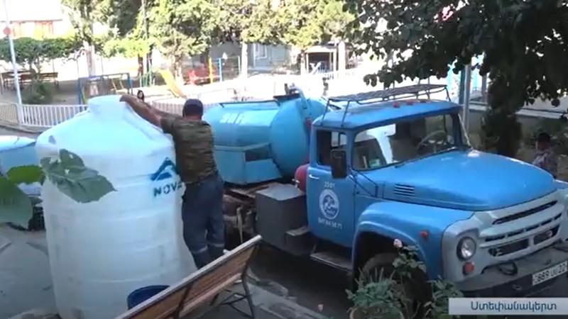 Ստեփանակերտի ջրամատակարարման թեման կրկին օրակարգում է (տեսանյութ)