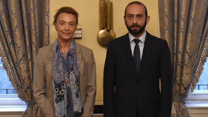 Արարատ Միրզոյանը հանդիպել է Եվրոպայի Խորհրդի Գլխավոր քարտուղար Մարիա Պեյչինովիչ Բուրիչի հետ (տեսանյութ)