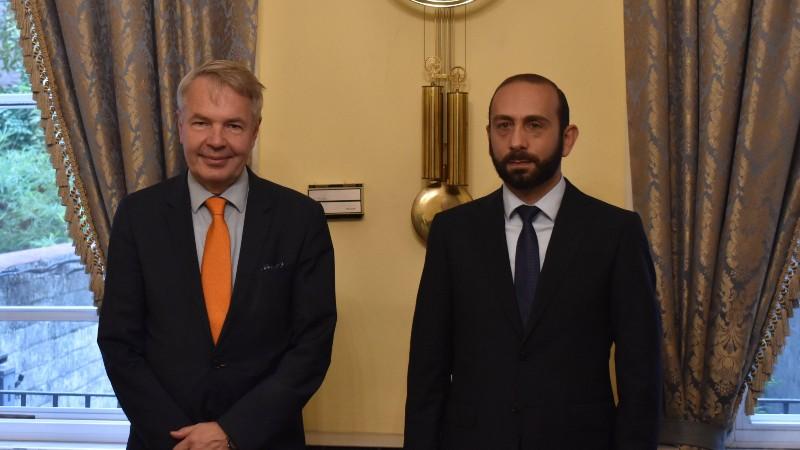 Հայաստանի և Ֆինլանդիայի ԱԳ նախարարները հանդիպել են (տեսանյութ)