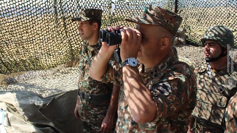 Հրամանատարաշտաբային մարզումներ են անցկացվել ՊՆ խաղաղապահ բրիգադում (լուսանկարներ)