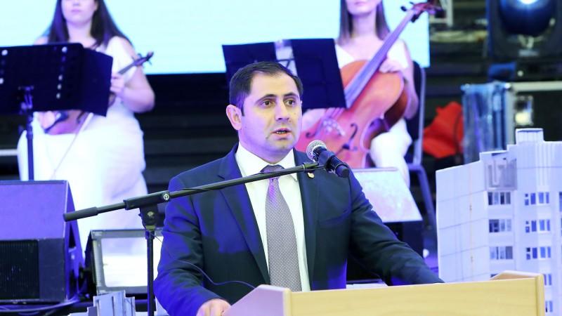 Սուրեն Պապիկյանը մասնակցել է կառուցապատման ոլորտի` Հայաստանում անցկացված առաջին ամենամեծ էքսպոյի բացմանը