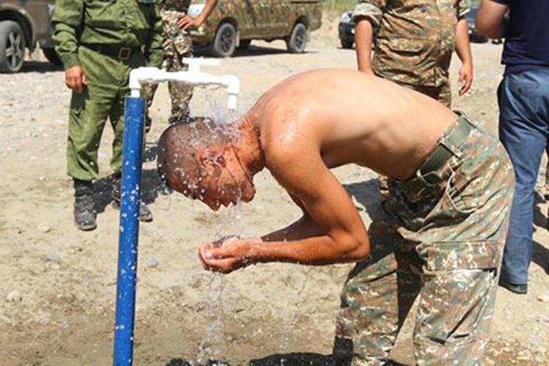 Առաջնագծի  78 հենակետեր ապահովվել են մշտական ջրով, իսկ 86-ը՝ մշտական հոսանքով.ՊՆ