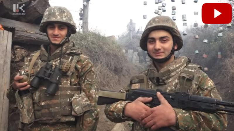 7-8 ժամկետային զինծառայող երկու-երեք ժամ տևած մարտից հետո փախուստի են մատնել հակառակորդի 100 հոգանոց խմբին (տեսանյութ)