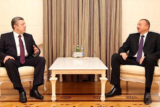 Վրաստանն ու Ադրբեջանը քննարկել են էներգետիկ և տրանսպորտային նախագծերի իրագործման հարցը