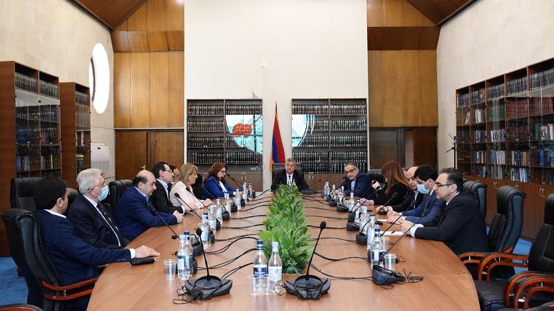 ԲԴԽ անդամները հանդիպել են Վճռաբեկ դատարանի դատավորների հետ. քննարկվել է դատաիրավական համակարգում առկա խնդիրները և մարտահրավերները