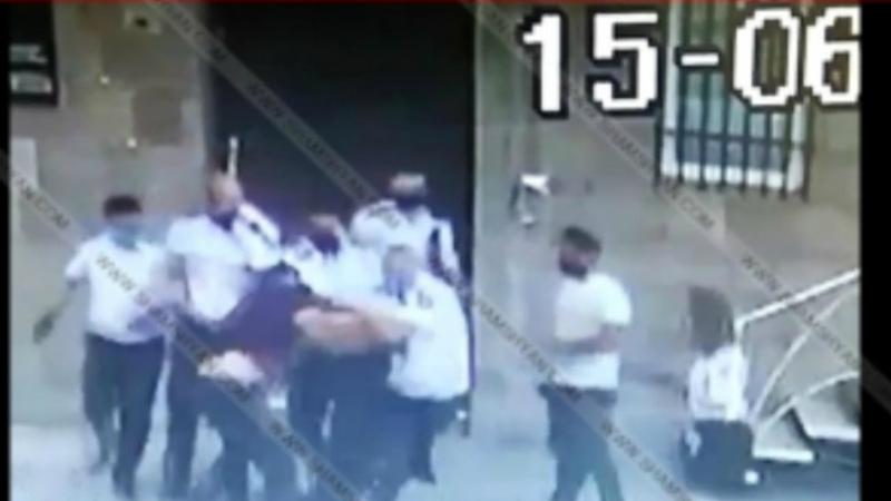 Տեսախցիկն արձանագրել է՝ ինչպես են Երևանում ԴԱՀԿ աշխատակիցները քաղաքացու նկատմամբ բռնություն կիրառում (տեսանյութ). Shamshyan.com