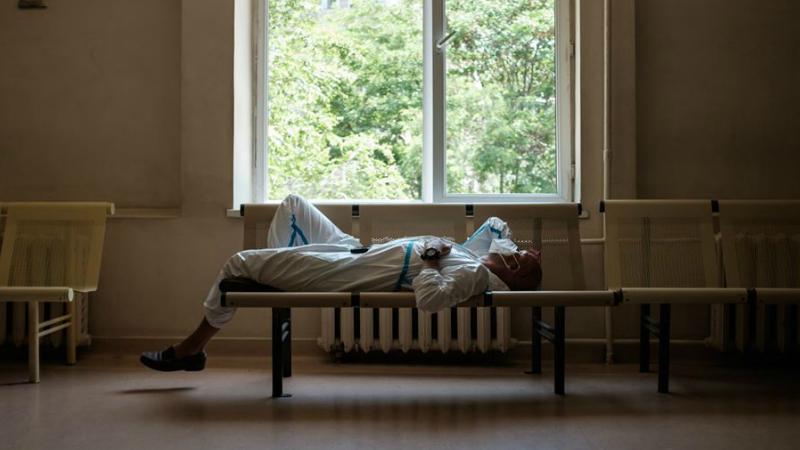 Ֆրանսիայի բժշկական թիմի ղեկավարը քնել է «Սուրբ Գրիգոր Լուսավորիչ» ԲԿ-ի միջանցքում