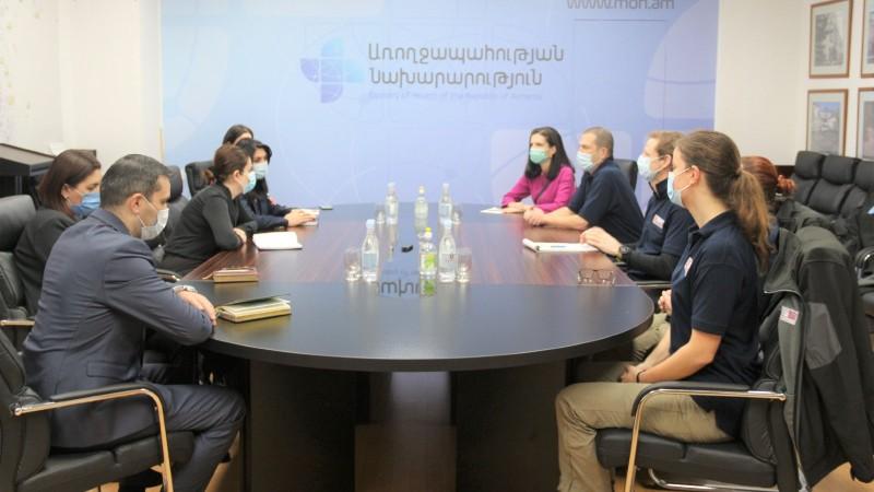 Հանդիպում Միացյալ Թագավորությունից ժամանած բժիշկների հետ. ԱՆ