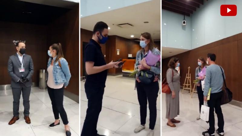 Ֆրանսիայից բժիշկները չարտերային թռիչքով ժամանեցին Հայաստան՝ օգնելու հայաստանցի բժիշկներին COVID-19-ի դեմ պայքարում (տեսանյութ)