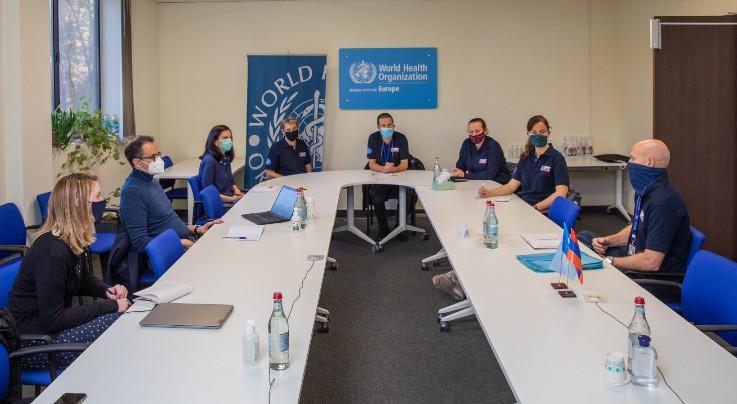 Միացյալ Թագավորությունից Հայաստան ժամանած բուժաշխատողները կաջակցեն հայ բժիշկներին՝ COVID-19-ի դեմ պայքարում