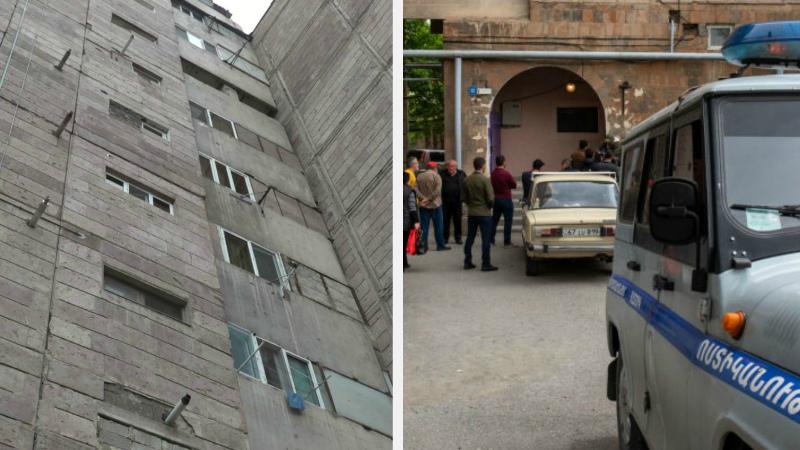Երևանի Հարավ-արևմտյան թաղամասի շենքերից մեկից տղամարդ է նետվել