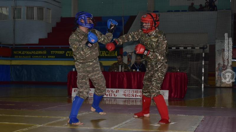 Լոռու կայազորում անցկացվել է բանակային ձեռնամարտի առաջնության ներզորամիավորային մրցափուլը