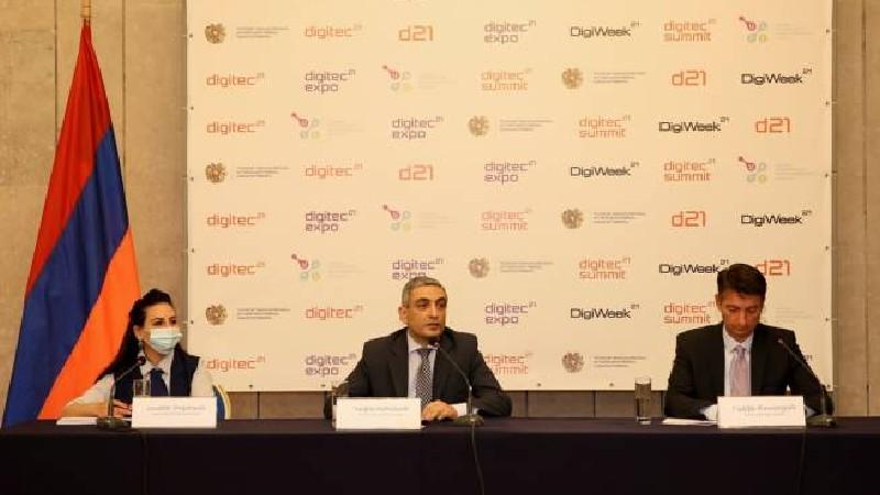 ՀՀ ԲՏԱ նախարարությունը և ԱՏՁՄ- ն հայտարարում են DigiWeek- ի և Digitec 2021- ի մեկնարկի մասին