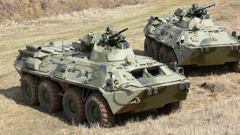 ՊԲ զինծառայողները ռազմավար են վերցրել 1 միավոր ԲՏՌ-82 զրահափոխադրիչ (լուսանկար)