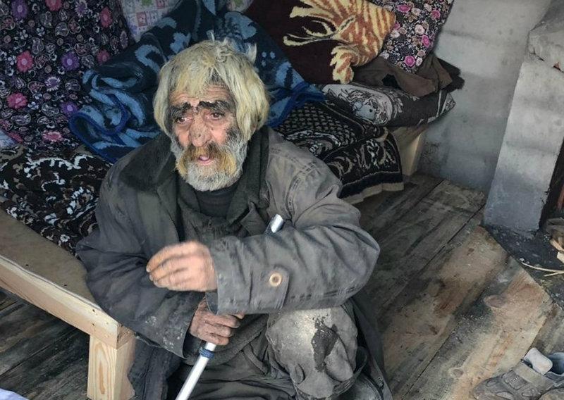 Թուրքիայում մի քաղաքացի 40 տարի ապրել է քարանձավում (լուսանկարներ)