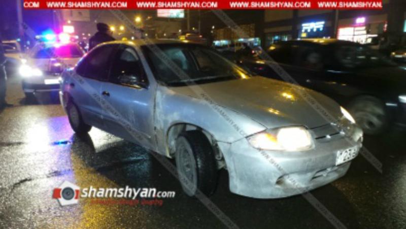 Երևանում 21-ամյա վարորդը Chevrolet-ով վրաերթի է ենթարկել փողոցը չթույլատրելի հատվածով անցնող հետիոտնին