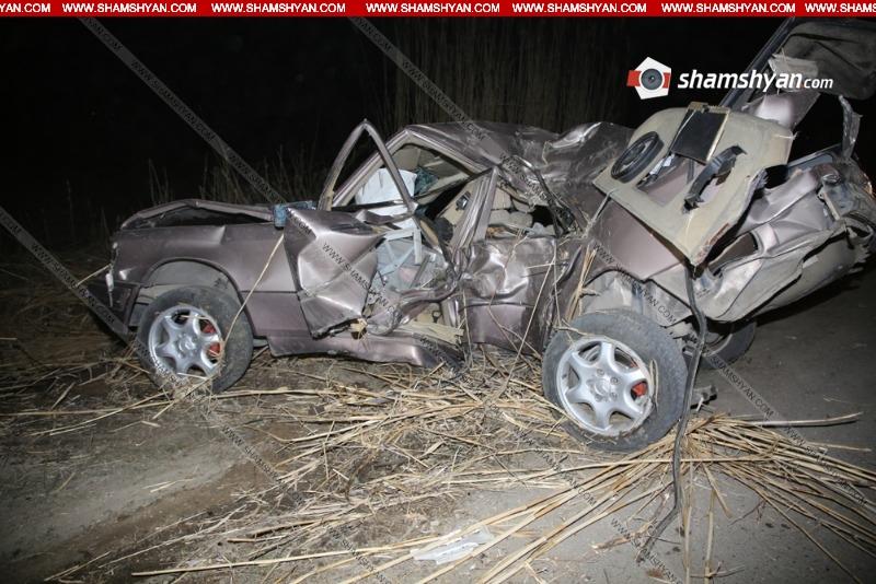 Խոշոր ավտովթարի հետևանքով հիվանդանոց տեղափոխված 34-ամյա տղամարդը մահացել է