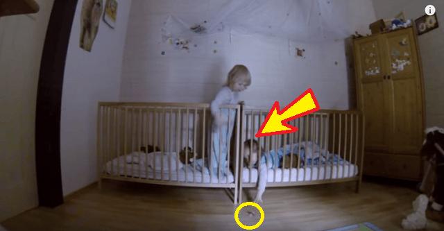 Ծնողները երեխաների սենյակում թաքնված տեսախցիկ էին միացրել. ահա և տեսագրությունը (տեսանյութ)