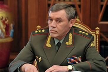 ՌԴ ԶՈւ-ի Գլխավոր Շտաբի պետ գեներալ Վալերի Գերասիմովը ժամանել է Երևան