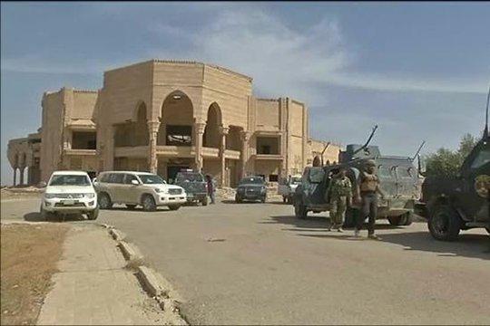Իրաքի զինվորականները ԴԱԻՇ-ի գրոհայիններից ազատագրել են Սադամ Հուսեյնի նախկին պալատը