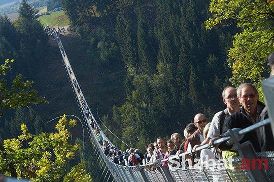 Գերմանիայում բացվել է ամենաերկար կախովի կամուրջը