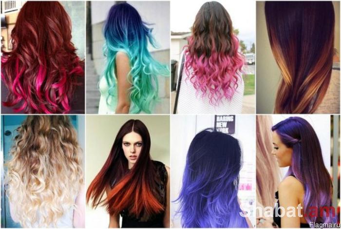 Այս աշնան նորաձև մազերի գույնը մի ֆոտոշարքում