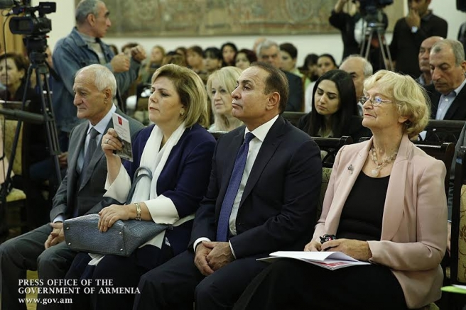 Վարչապետը ներկա է գտնվել Հայաստանին «Եվրոպա Նոստրա» մրցանակի հանձնման արարողությանը (լուսանկարներ)