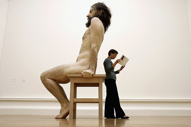 Սկանդալային քանդակագործ Ռոն Մյուեկի կենդանի քանդակները. Ֆոտոշարք