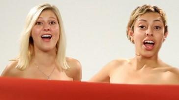 Ընկերուհիների ռեակցիան, երբ առաջին անգամ միմյանց մերկ են տեսնում (տեսանյութ)